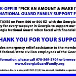 2017 State of Georgia Tax Check-Off
