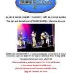 May 16, 2019 BANKS & SHANE CONCERT, Thursday @ 8:00 PM
