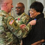7 April 2018-201st RSG donations Honor CSM Phillip Stringfield and Mrs. Tinie Stringfield