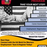 April 2018-Georgia Work for Warriors Employment Team!