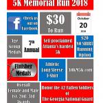 20 Oct 2018 Assault on Kennesaw Mountain 5K